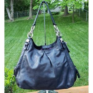 Coach Madison Maggie Mia Hobo Leather Bag